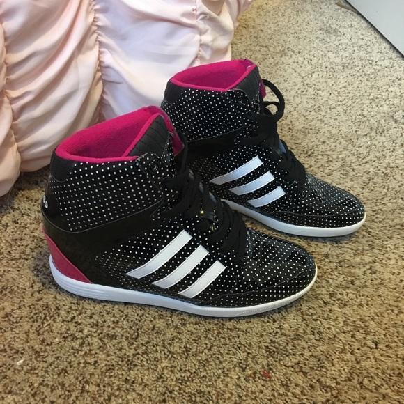 Adidas Keil Sneaker adidas Weneo schwarz, silber von